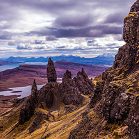 Buy canvas prints of The Old Man of Storr by Gary Finnigan