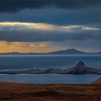Buy canvas prints of Eabhal from Neist Lighthouse by Gary Finnigan