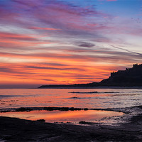 Buy canvas prints of Bamburgh Castle by Gary Finnigan