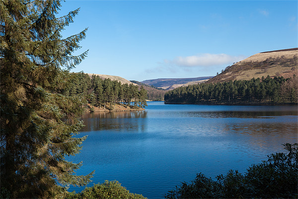 Ladybower Reservoir Canvas print by Gary Finnigan