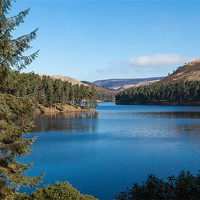 Buy canvas prints of Ladybower Reservoir by Gary Finnigan