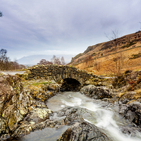 Buy canvas prints of Ashness bridge by Gary Finnigan