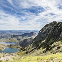 Buy canvas prints of Snowdon summit by Gary Finnigan