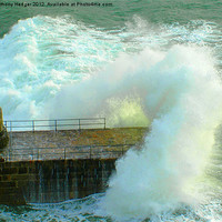 Buy canvas prints of Give me a wave by Anthony Hedger
