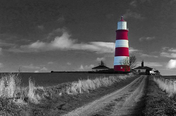 Happisburgh Lighthouse Canvas print by Simon Deacon