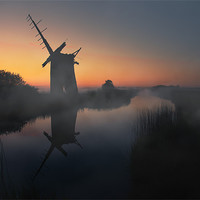 Buy canvas prints of Norfolk Broads by steve docwra