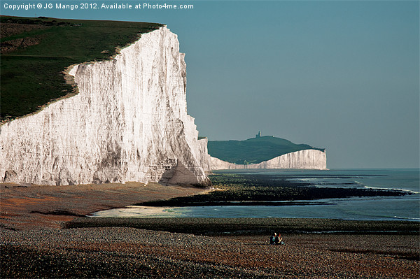 Two Sisters Seven Sisters Canvas Print by JG Mango