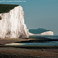 Buy canvas prints of Two Sisters Seven Sisters by JG Mango