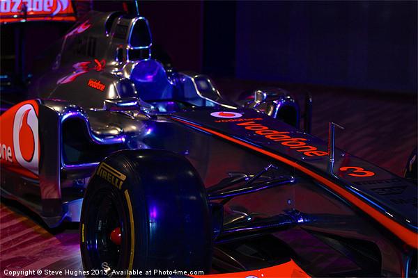 McLaren Formula 1 car Canvas print by Steve Hughes
