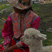 Buy canvas prints of Peruvian by cairis hickey