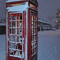 Buy canvas prints of phonebox by cairis hickey