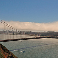 Buy canvas prints of Golden gate Bridge San Francisco  by cairis hickey