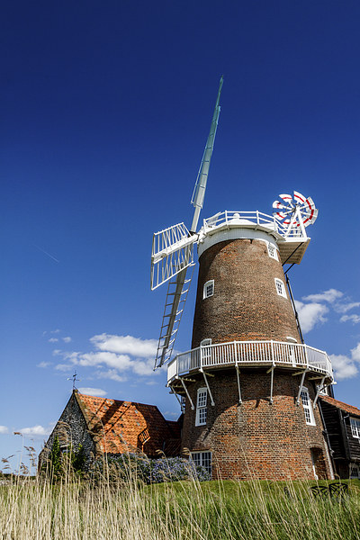 Cley Mill  Framed Mounted Print by Paul Holman Photography
