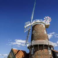 Buy canvas prints of Cley Mill  by Paul Holman Photography