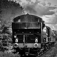 Buy canvas prints of Loco arriving by Paul Holman Photography
