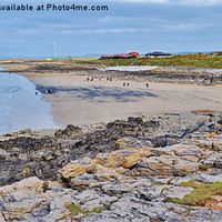 Buy canvas prints of Rest Bay by Paula J James
