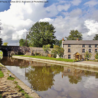 Buy canvas prints of Monmouthshire & Brecon Canal by Paula J James