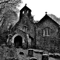 Buy canvas prints of Llandyfeisant Church by Paula J James