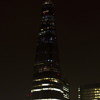 Buy canvas prints of The Shard London by David Pyatt