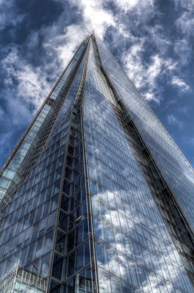 The Shard London Acrylic by David Pyatt