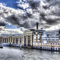 Buy canvas prints of Butlers Wharf London by David Pyatt