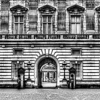 Buy canvas prints of Buckingham Palace London by David Pyatt