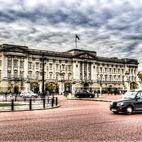Buy canvas prints of  Buckingham Palace  by David Pyatt