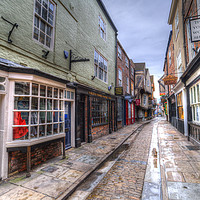 Buy canvas prints of The Shambles York by David Pyatt