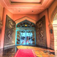 Buy canvas prints of Atlantis Palm Hotel Dubai by David Pyatt