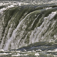 Buy canvas prints of Horseshoe Falls Canada by David Pyatt