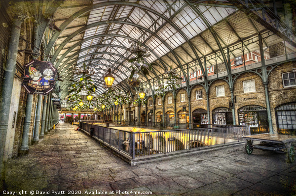Covent Garden Retro  Acrylic by David Pyatt