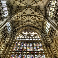 Buy canvas prints of York Minster Cathedral    by David Pyatt
