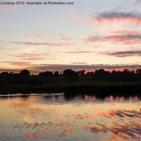 Buy canvas prints of Lough Erne in County Fermanagh by John McCoubrey