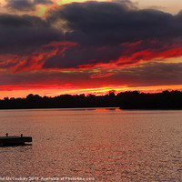 Buy canvas prints of Sunset at Muckross Bay by John McCoubrey