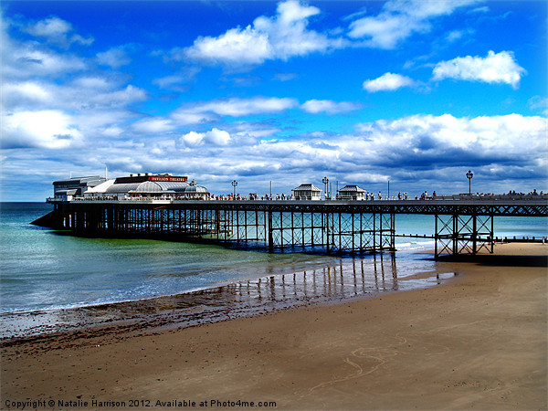 Cromer Pier Canvas print by Natalie Harrison
