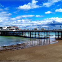 Buy canvas prints of Cromer Pier by Natalie Harrison