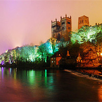 Buy canvas prints of Durham lumiere panorama by eric carpenter