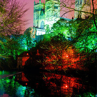 Buy canvas prints of Durham Lumiere by eric carpenter