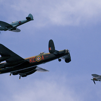 Buy canvas prints of Battle of Britain flight by eric carpenter