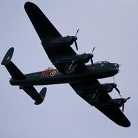 Buy canvas prints of Avro Lancaster Battle of Britain flight by eric carpenter