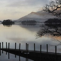 Buy canvas prints of cold derwentwater by eric carpenter
