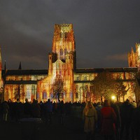 Buy canvas prints of Durham Cathedral Lumiere by eric carpenter