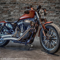 Buy canvas prints of CUSTOM RIDE 2 by Art Exclusive
