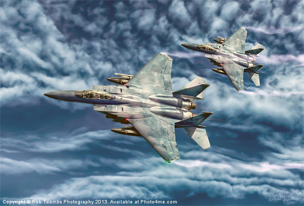 THE FLIGHT OF THE EAGLES Canvas print by Art Exclusive
