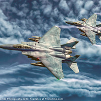 Buy canvas prints of THE FLIGHT OF THE EAGLES by Art Exclusive