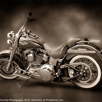 Buy canvas prints of HARLEY DAVIDSON PAINTING by Art Exclusive