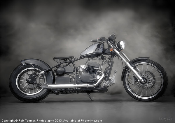 REGAL BOBBER PAINTING Canvas print by Art Exclusive