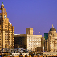Buy canvas prints of liverpool by susan davies