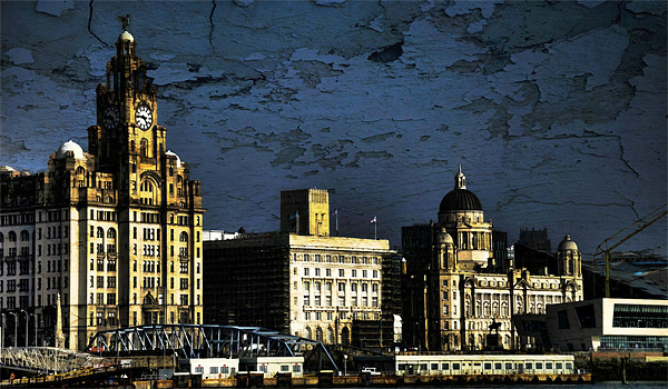 The three graces Canvas print by susan davies