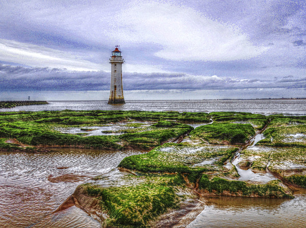 perch rock Canvas print by susan davies